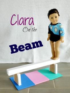 DSCN2316Clara on the beam