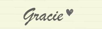 Gracie Sign Off
