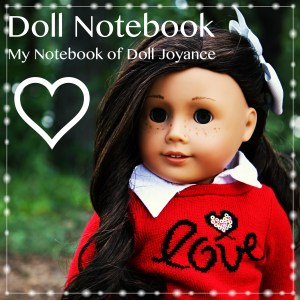 Doll Notebook Button